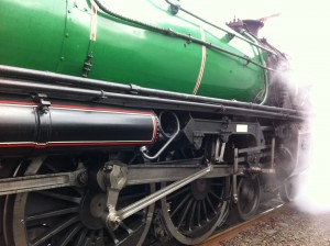 3642 Steam Train - lots of steam!